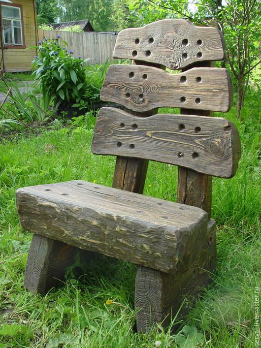 """Мебель ручной работы. Ярмарка Мастеров - ручная работа. Купить стулья дачные """" Три медведя"""". Handmade. Хаки"""