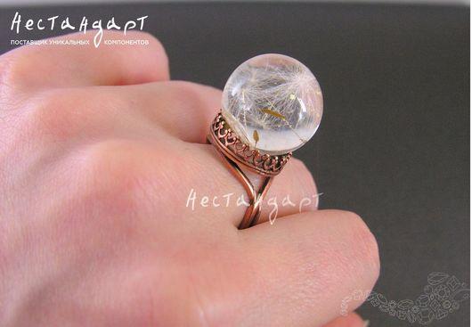 Для украшений ручной работы. Ярмарка Мастеров - ручная работа. Купить Основа для кольца JBB (BFN160). Handmade. Медь, jbb