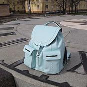 Сумки и аксессуары handmade. Livemaster - original item Women`s leather backpack «Buona Sera». Handmade.