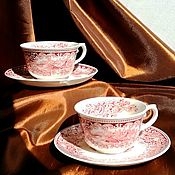 Винтаж handmade. Livemaster - original item Mugs, tea pair, Holland.. Handmade.
