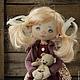 Коллекционные куклы ручной работы. Ася. Ирина Хочина 'Понарошку'. Ярмарка Мастеров. Кукла в подарок, коллекционная кукла, авторская работа