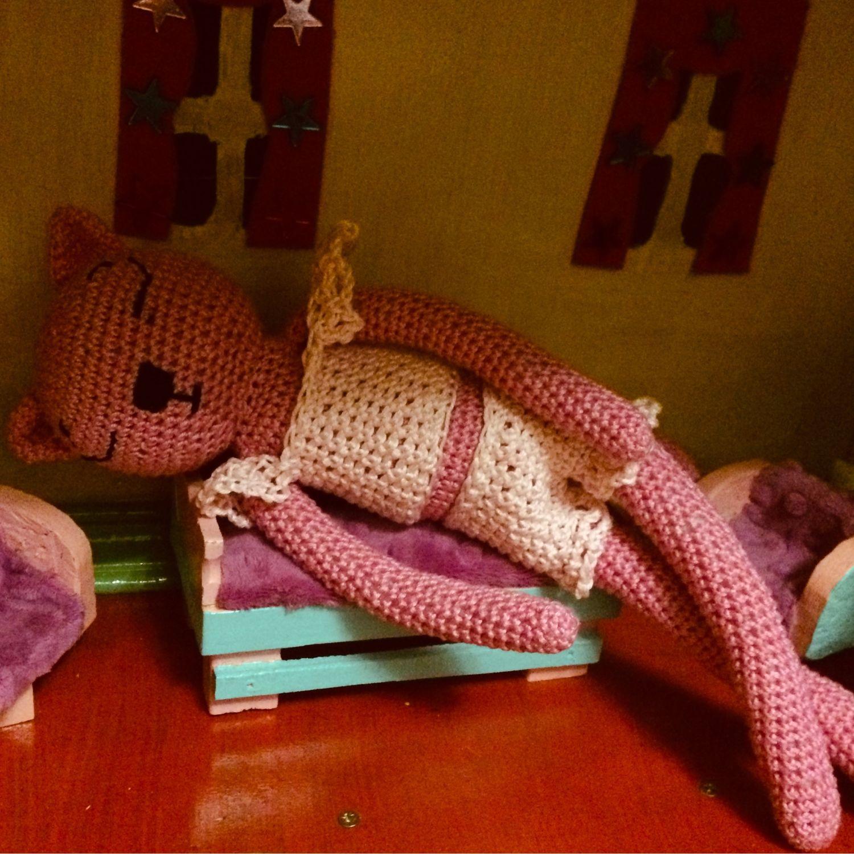 Кошка амигуруми, Мягкие игрушки, Москва,  Фото №1