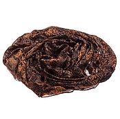 Аксессуары ручной работы. Ярмарка Мастеров - ручная работа Парео из натурального шелка яркого оранжевого оттенка. Handmade.