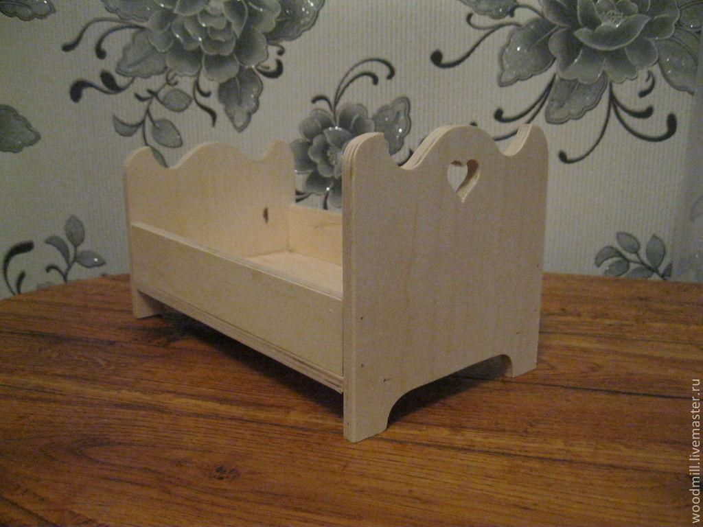 Металлическая кроватка для куклы своими руками 75