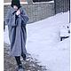 """Верхняя одежда ручной работы. Заказать Пальто- кокон """"Street-fashion"""". Look1. Лана КМЕКИЧ de Marlen (lanakmekich). Ярмарка Мастеров."""