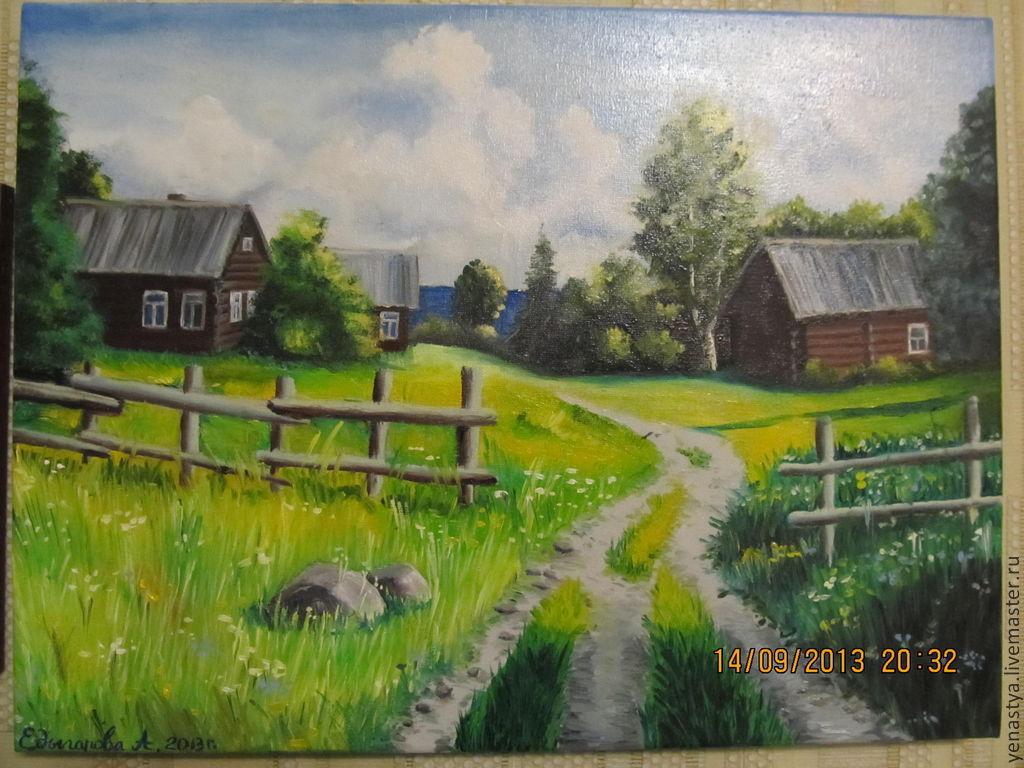 картинки к стихотворению деревня пшеницы