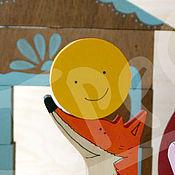 Куклы и игрушки ручной работы. Ярмарка Мастеров - ручная работа Сказка Колобок.. Handmade.