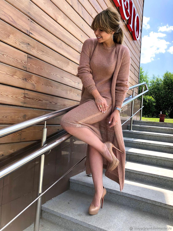 Платье и кардиган, Кардиганы, Москва,  Фото №1
