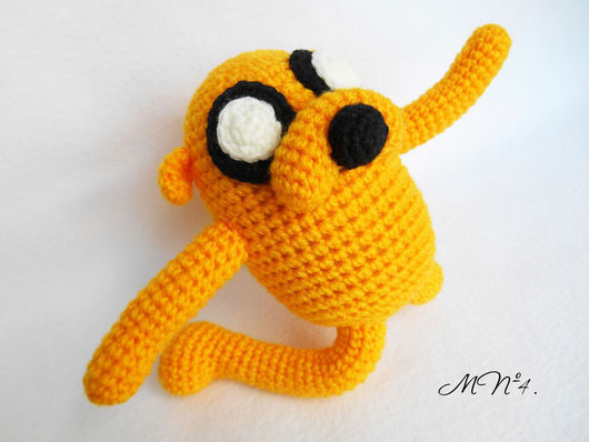 """Сказочные персонажи ручной работы. Ярмарка Мастеров - ручная работа. Купить Пёс Джейк. Adventure Time (""""Время приключений""""). Handmade."""