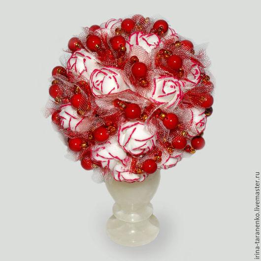 Цветы из коралла `Танго любви`