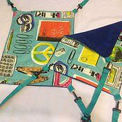 Для домашних животных, ручной работы. Ярмарка Мастеров - ручная работа Гамак для хорька из мебельной ткани. Handmade.