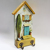 Для дома и интерьера handmade. Livemaster - original item Hangers and hooks/house. Handmade.