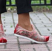 """Обувь ручной работы. Ярмарка Мастеров - ручная работа Мокасины валяные """"Касабланка"""". Handmade."""
