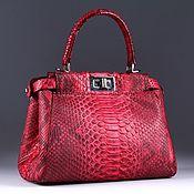 Сумки и аксессуары handmade. Livemaster - original item Bag made from Python IMP0572R. Handmade.