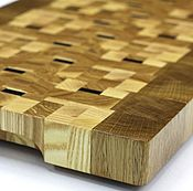 Для дома и интерьера handmade. Livemaster - original item End cutting Board №141. Handmade.