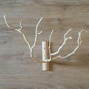 Для дома и интерьера ручной работы. Ярмарка Мастеров - ручная работа Интерьерная ветка дерева. Handmade.