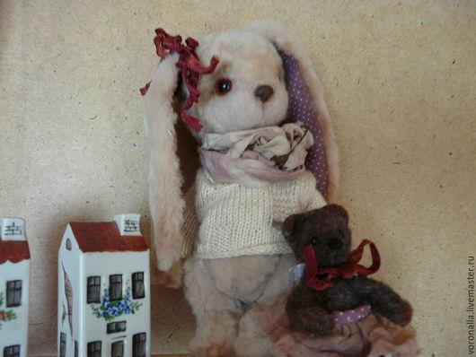 Мишки Тедди ручной работы. Ярмарка Мастеров - ручная работа. Купить Зая. Handmade. Бежевый, нежность, гранулят стеклянный