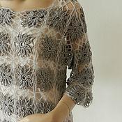 Одежда ручной работы. Ярмарка Мастеров - ручная работа Вещь №1 платье нежных цветов. Handmade.