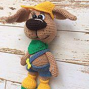 Куклы и игрушки handmade. Livemaster - original item Doggie Lorik.Knitted toy.. Handmade.