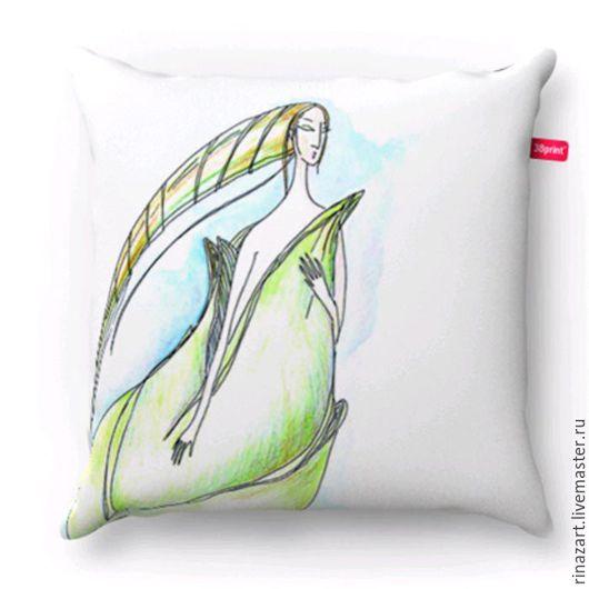 Подушка `Эльф` создаст настоящее волшебное настроение. Это отличный подарок, который даже в самую холодную зиму напоминает: `Весна уже скоро`