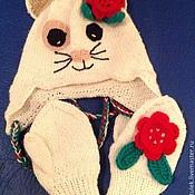 Работы для детей, ручной работы. Ярмарка Мастеров - ручная работа Шапка, шарф. Handmade.