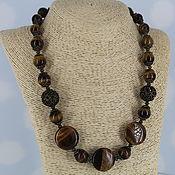 Украшения handmade. Livemaster - original item Beads of large stones, collection