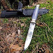 Сувениры и подарки handmade. Livemaster - original item Fink knife (Navy). Handmade.