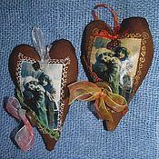Куклы и игрушки ручной работы. Ярмарка Мастеров - ручная работа Игрушка кофейная Сердце. Handmade.