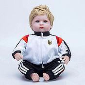 Куклы Reborn ручной работы. Ярмарка Мастеров - ручная работа Куклы Reborn: Кукла Reborn, футболист Германия (A). Handmade.