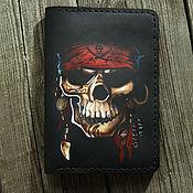Cover handmade. Livemaster - original item Cover Pirate Skull. Handmade.