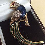 Винтаж handmade. Livemaster - original item Brooch bird of Paradise England vintage. Handmade.