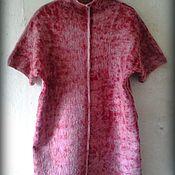 """Одежда ручной работы. Ярмарка Мастеров - ручная работа платье, туника, свитер """" Клюква в сахаре """". Handmade."""