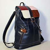 Сумки и аксессуары handmade. Livemaster - original item Backpack leather city 27. Handmade.