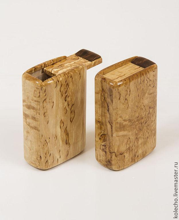 Портсигар своими руками из дерева