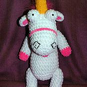 Куклы и игрушки handmade. Livemaster - original item a unicorn Fluffy. Pussy. m/f Despicable me. Handmade.