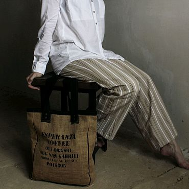 Сумки и аксессуары ручной работы. Ярмарка Мастеров - ручная работа Текстильная сумка. Handmade.