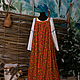 Этническая одежда ручной работы. Ярмарка Мастеров - ручная работа. Купить Сарафан. Handmade. Лето, ситец, ситец