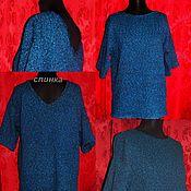 Одежда handmade. Livemaster - original item Tweed linen.Tunic