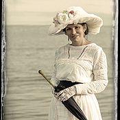 Одежда ручной работы. Ярмарка Мастеров - ручная работа Платье эпохи модерн Элен. Handmade.