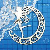 Материалы для творчества handmade. Livemaster - original item chipboard fairy 02-422. Handmade.