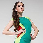 Одежда ручной работы. Ярмарка Мастеров - ручная работа 235: летнее платье футляр, повседневное платье на лето, офисное платье. Handmade.