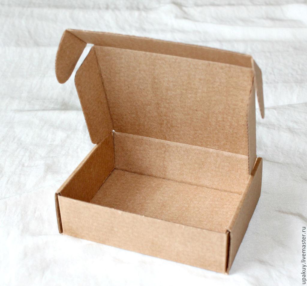 Как сделать крафт коробку 476