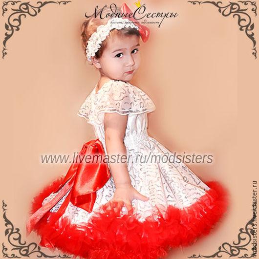 """Одежда для девочек, ручной работы. Ярмарка Мастеров - ручная работа. Купить Платье """"Королева"""" Арт.306. Handmade. Белый"""