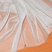 Ткани ручной работы. Ярмарка Мастеров - ручная работа Сетка стрейч на шелке. Handmade.
