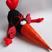 Куклы и игрушки ручной работы. Ярмарка Мастеров - ручная работа Ворона. Handmade.