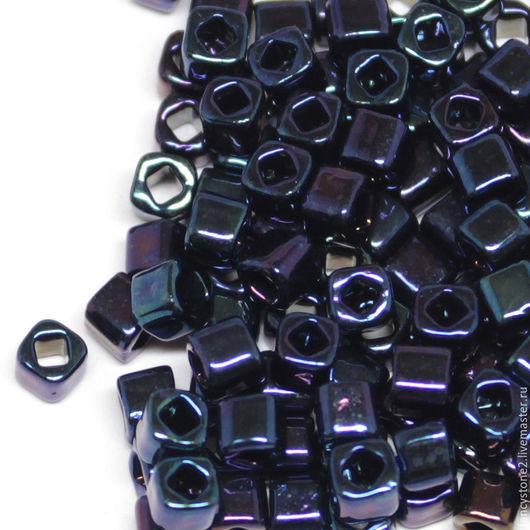 Для украшений ручной работы. Ярмарка Мастеров - ручная работа. Купить Бисер ТОХО Куб 3мм №82, Японский бисер TOHO Beads 10гр. Handmade.