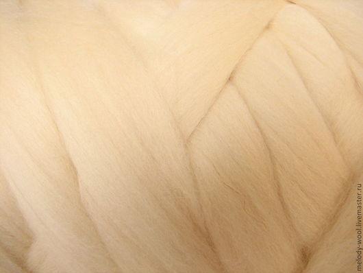 Валяние ручной работы. Ярмарка Мастеров - ручная работа. Купить Шерсть для валяния меринос 18 микрон цвет Акация (Acacia). Handmade.