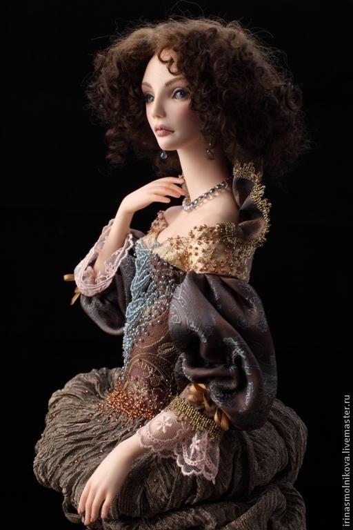 Коллекционные куклы ручной работы. Ярмарка Мастеров - ручная работа. Купить Хочу открыть тебе тайну В частной коллекции. Handmade.