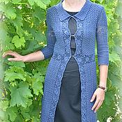 Одежда ручной работы. Ярмарка Мастеров - ручная работа Ажурное летнее пальто. Handmade.