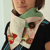 """Аксессуары ручной работы. Ярмарка Мастеров - ручная работа Снуд  """"Сны"""" шарф, хомут.. Handmade."""